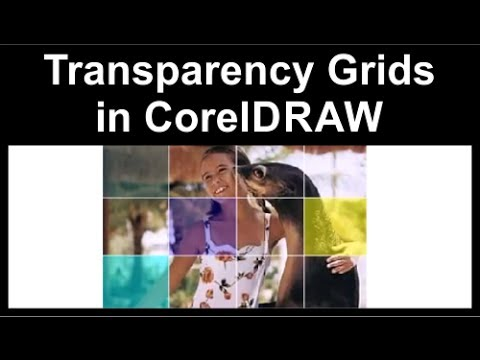 Transparency grids in CorelDraw