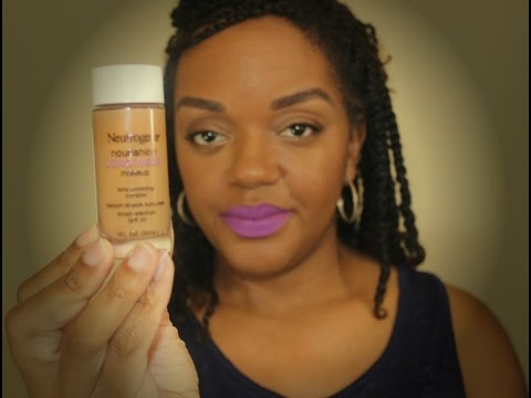 Neutrogena Long Wear Foundation Review in Cocoa and Chestnut