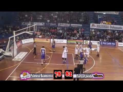 Resumen Cuartos de Playoffs (II) Palencia Baloncesto - Fora Lleida, Leb Oro 2012/2013