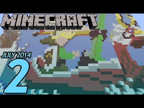 Amazing Pixel Art (Minecraft) - Part 2 - Your Builds