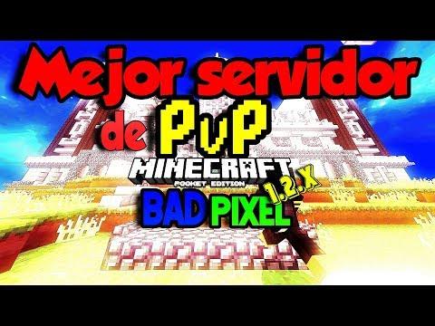 El mejor servidor de PvP para Minecraft Pocket Edition 1.2.x [MONTAJE]