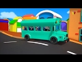 Ruedas en el autobús | Rima para niños | Nursery Rhymes | Baby Bao Panda | The Wheels on the Bus