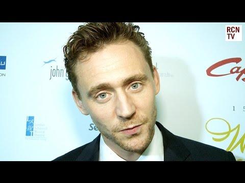 Tom Hiddleston Interview - Crimson Peak, Skull Island & Hank Williams