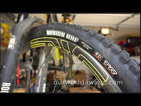 Maxxis WT Minion DHF 2.5wt On 25mm Enve Carbon Wheels thumbnail