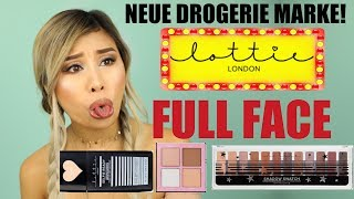 OMG ❌ NEUE MARKE IN DER DROGERIE l LOTTIE LONDON FULL FACE DEUTSCH l Kisu