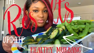 THE RESULTS ARE IN! YOUR QUESTIONS ANSWERED+ HEALTHY RAW FOODS MUKBANG!