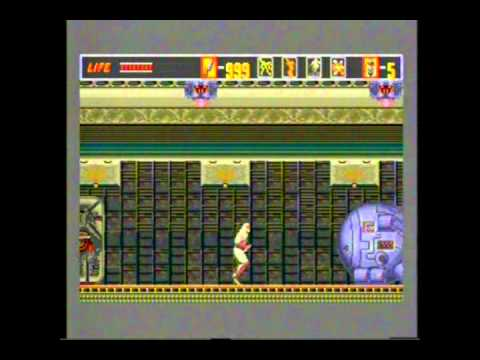 The Revenge Of Shinobi Sega Mega CD Gameplay 9 - Classic Retro Game Room