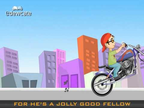 Edewcate english rhymes – For he's a jolly good fellow