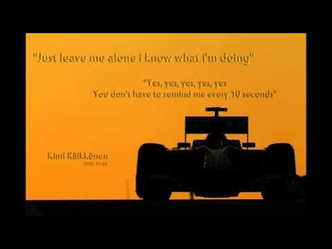 Kimi Raikkonen on team radio like a boss1 (AbuDhabi 2012)