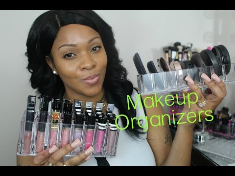 Makeup Vanity Organization & Storage Ideas   Byalegory Acrylic Make Up Organizer