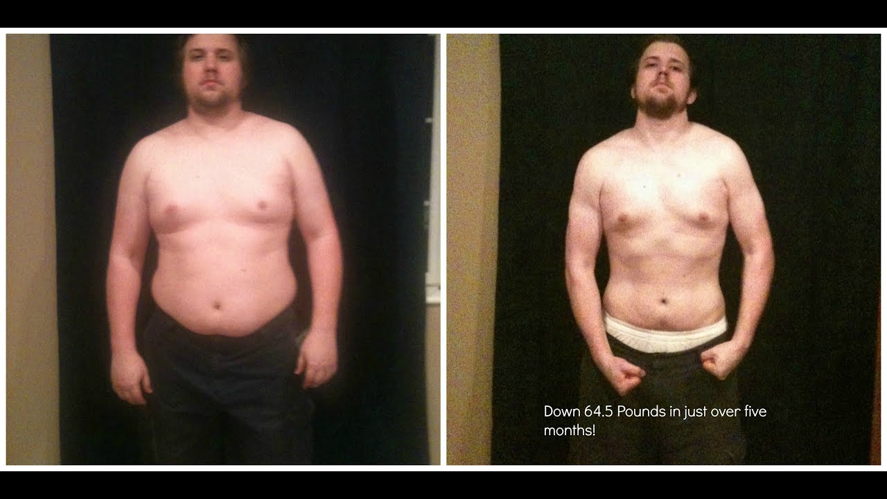Time Lapse: 65 lbs weight loss in 5 Months / Extreme body Transformation - YouTube