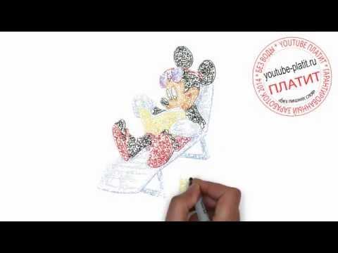 Видео как нарисовать Мурзилку поэтапно