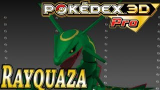 Pokemon #384: Rayquaza (Pokedex 3D Pro)