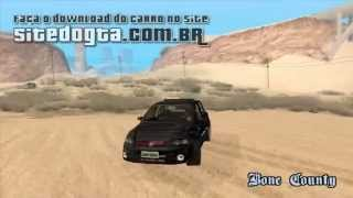 Mods de carros brasileiros para GTA San Andreas: Fiat Stilo Sporting 2009