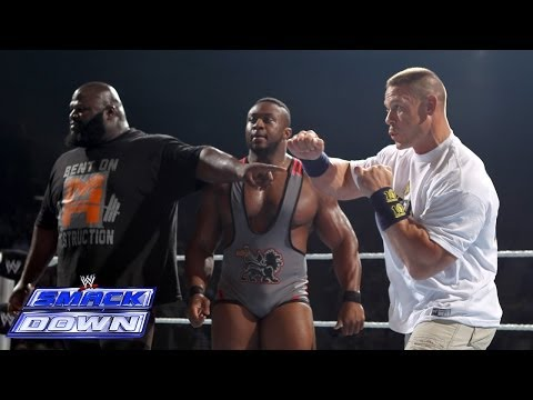 Mark Henry & Big E Langston Help John Cena Fend Off The Shield: Smackdown, Dec. 27, 2013 video