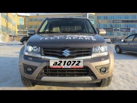 Suzuki Grand Vitara тест-драйв. Anton Avtoman.