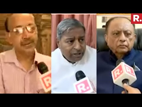Vinay Katiyar, Vijay Goel And Majeed Memon On Lingayat Politics