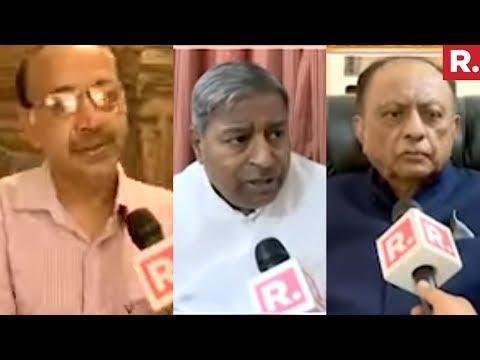 Vinay Katiyar, Vijay Goel And Majeed Memon On Lingayat Politics