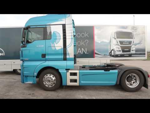 Prueba del Camión MAN TGX 18.480