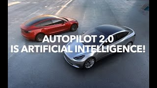 Autopilot 2.0 is artificial intelligence and Tesla HUD!    Model 3 Owners Club