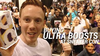 BUYING ULTRA BOOSTS AT SNEAKER CON & CRAZY 1 OF 1 JORDANS