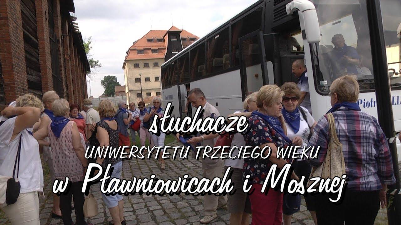 Słuchacze UTW w Pławniowicach i Mosznej