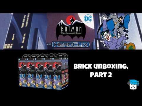 Heroclix Unboxing: Batman, the Animated Series - part 2