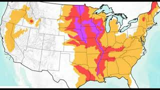 NOAA Warns Of Historic Flooding Through May, 200 Million At Risk, Food Price to Skyrocket