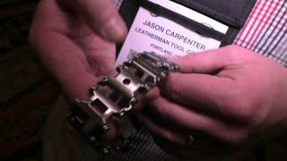 Leatherman TREAD, First Close-Up Look: SHOT Show 2015