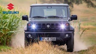 2019 Suzuki Jimny Road & Trail Driving, Interior & Exterior