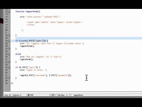 [TUTORIAL PHP ITA] Creare uno script di login completo!