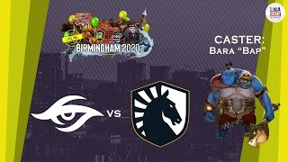SECRET VS LIQUID (BO3) | ESL One Birmingham 2020 - Online: Europe & CIS | DOTA 2 LIVE INDONESIA