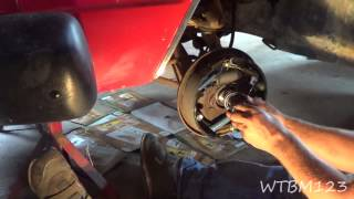 Wheel Bearing and Seal Removal on Older Vehicles