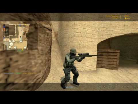 Counter-Strike Source Gameplay Part 2 HD 1080p - Dust 2