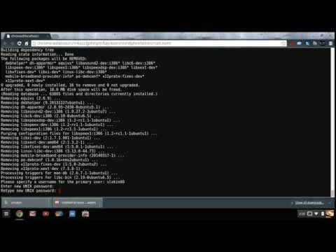 How to Install Ubuntu On A Chromebook (2015 Step-By-Step) 14.04