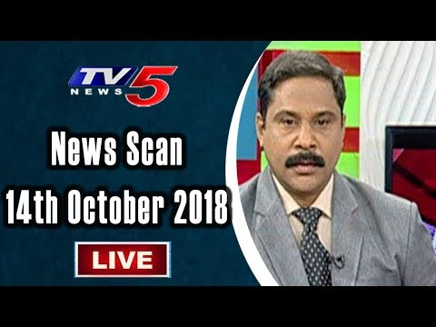 News Scan LIVE Debate With Vijay | 14th October 2018 | TV5 News