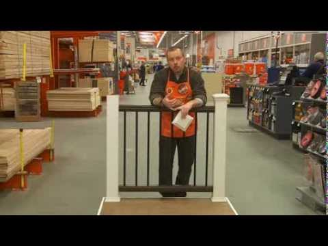 Trex Deck Railing For Pros The Home Depot Youtube