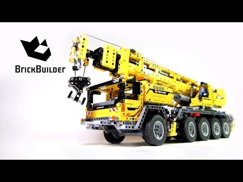 Lego Technic 42009 Mobile Crane MK II Build & Review