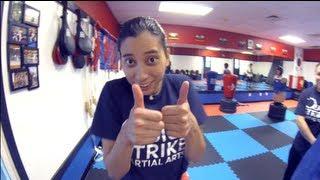 Female MMA Training Vlog - YouTube