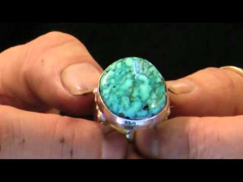 Men s Turquoise Ring