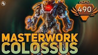 Masterwork Colossus Build (THICC BOI BUILD) | Anthem Builds