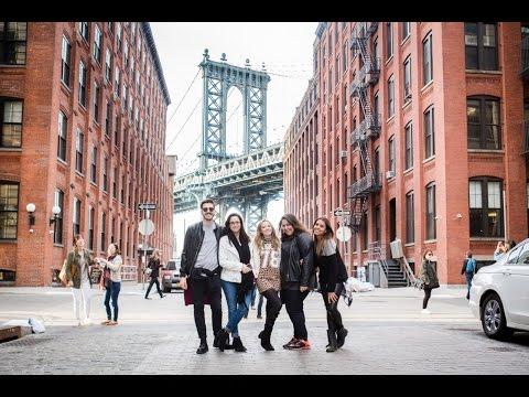 Vlog: Blogueiras em Nova York, Fotos no Brooklyn, Cantando na Disney Store,  Karaoke, etc.