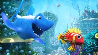 🐠 NEW 3D Baby Shark Doo Doo Doo Doo Song 2017 🐠  🐟  | 3D Baby Shark Song