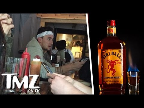 Johnny Manziel Buys Round of 300 Whiskey Shots! (TMZ TV)
