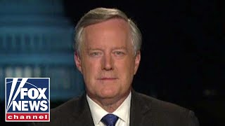 Meadows: The left is trying to throw every accusation at Trump