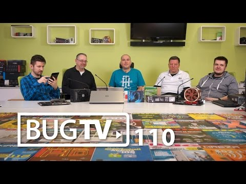 BugTV talk-show #11: Win 10, Tim Cook, Meerkat, Periscope, Pono, celeb-audio, fotoaparati na mob.