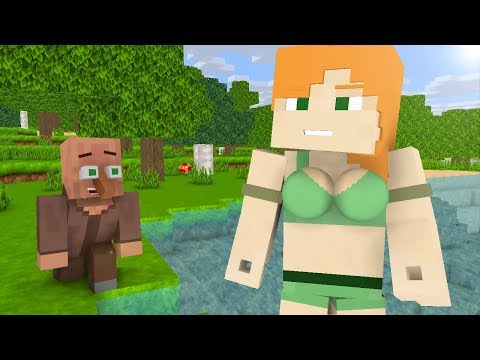 Villager Life 1-5  - Minecraft animation