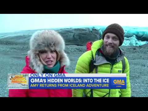 Inside Amy Robach's Journey to Iceland