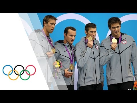 Michael Phelps' Final Olympic Race   Men's 4 X 100m Medley   London 2012 Olympics