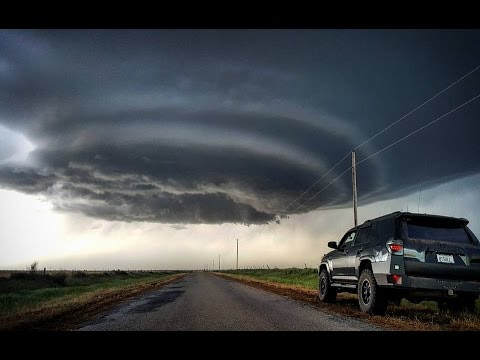 LIVE Storm Chase - May 9th, 2016 South Oklahoma